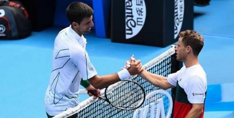 Diego Schwartzman cayó en tres sets frente a Novak Djokovic y se despidió de Australia | El Diario 24