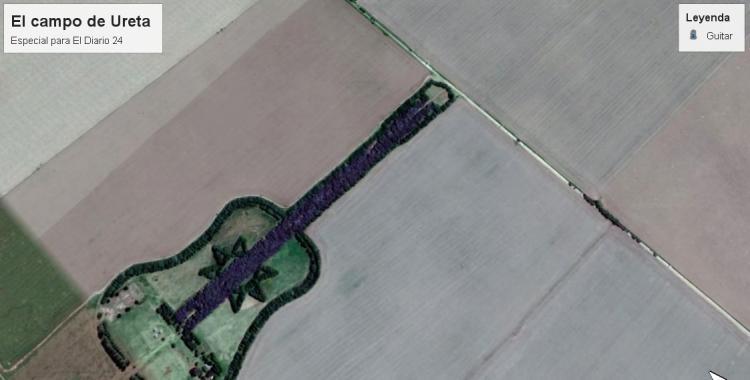 Para rendir homenaje a su esposa, construyó la guitarra más original del mundo | El Diario 24