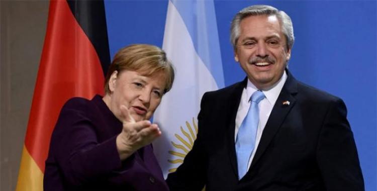 Alberto con Ángela Merkel: Alemania es un modelo que miramos de cerca   El Diario 24