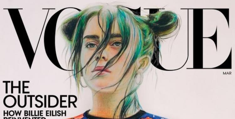 El impresionante retrato de Billie Eilish para la portada de la revista Vogue | El Diario 24