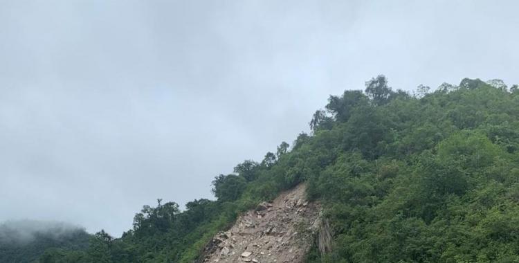 Un nuevo derrumbe complica el tránsito en la ruta a Tafí del Valle | El Diario 24