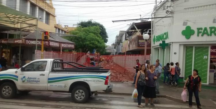 La peatonal de Santiago del Estero se prepara para su nueva imagen y comodidades | El Diario 24