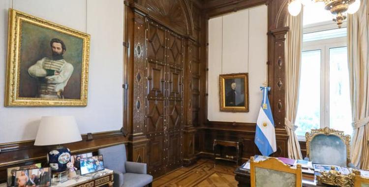 Los cuatro próceres argentinos que eligió Alberto Fernández para su despacho presidencial | El Diario 24