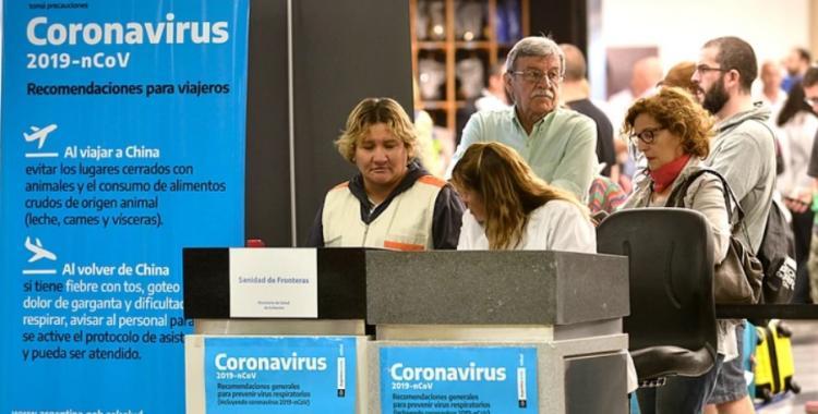 Coronavirus: Ya hay controles en Ezeiza, pasajeros llenan un formulario pero no se les toma la fiebre | El Diario 24