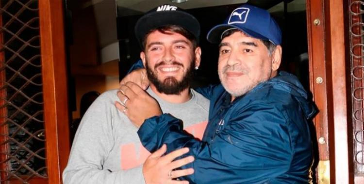Qué dijo Diego Maradona Jr sobre la comparación de Messi con su padre   El Diario 24