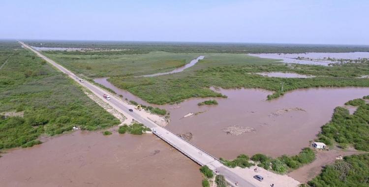 Vuelven a cortar la ruta 92 en el puente sobre el Saladillo del Rosario | El Diario 24