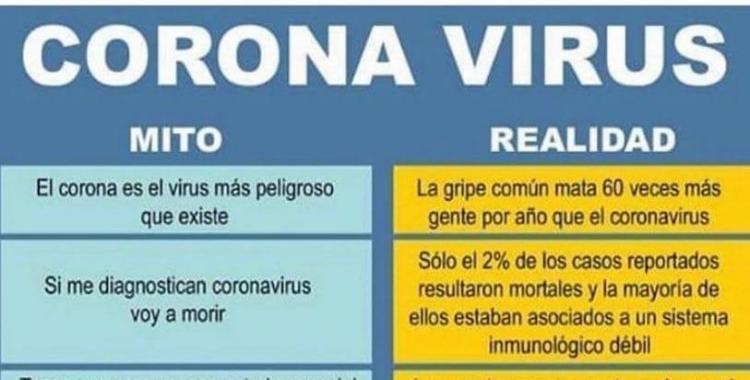 El coronavirus mata menos que la gripe   El Diario 24