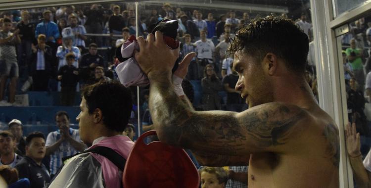 Arregui le dedicó la eliminación de Atlético a los hinchas de San Martín   El Diario 24
