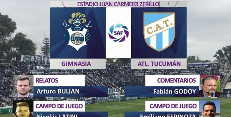 EN VIVO - Superliga 2020: Gimnasia y Esgrima La Plata vs. Atlético Tucumán, hora, TV y formaciones | El Diario 24