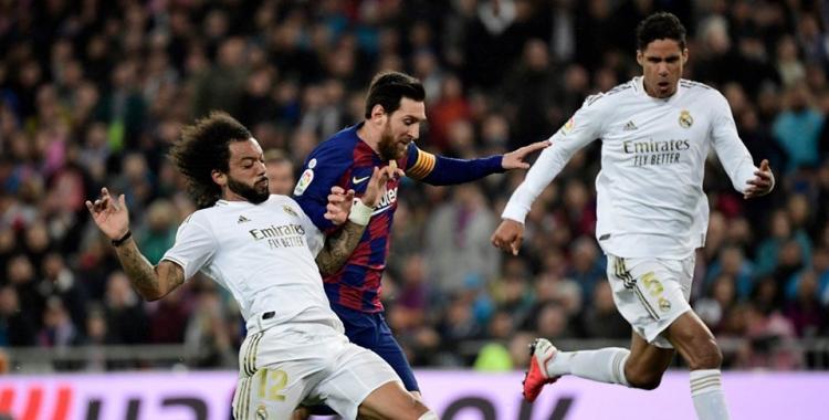 Cachetada del Real Madrid al Barcelona con un opaco Messi | El Diario 24