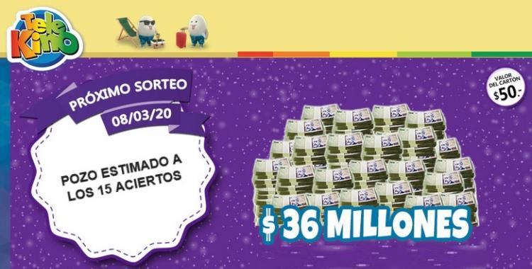 ¿Cuándo es el próximo sorteo del Telekino? Es el 1455 y viene con 36 millones de premio   El Diario 24