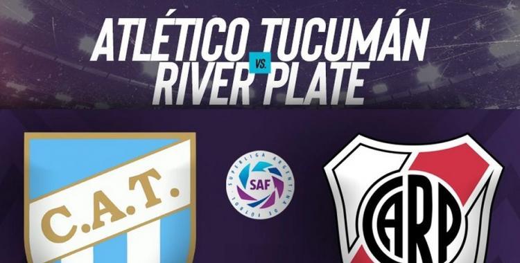 EN VIVO - Superliga 2020: Atlético Tucumán vs River Plate, hora, TV y formaciones | El Diario 24