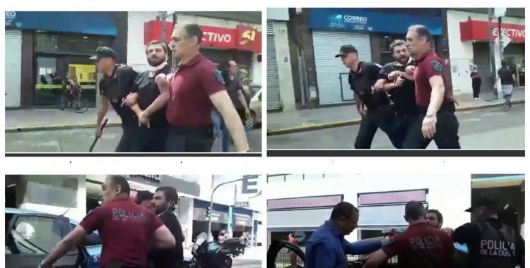Mirá el video de Juan Grabois siendo llevado por la policía: ¿por qué lo detuvieron? | El Diario 24