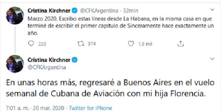 Flor me pidió que la venga a buscar, Cristina vuelve con su hija desde Cuba y estallan las redes | El Diario 24