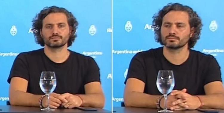 ¿A favor o en contra? Cafiero se llevó todas las miradas en la conferencia de Alberto Fernández | El Diario 24