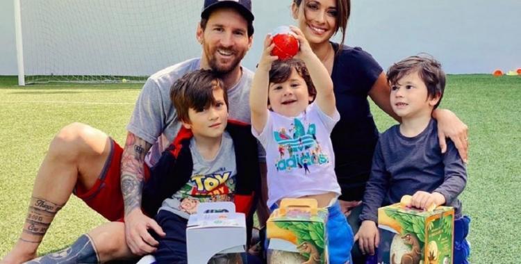 Antonela Rocuzzo y Lionel Messi, subieron un tierno mensaje por la pascua | El Diario 24