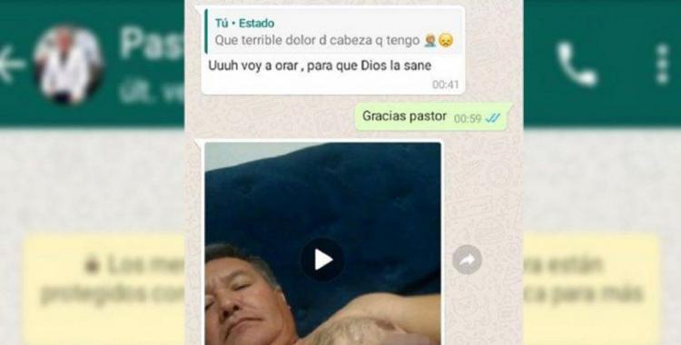 Escándalo en Río Negro por un pastor que envía videos porno a sus feligresas | El Diario 24