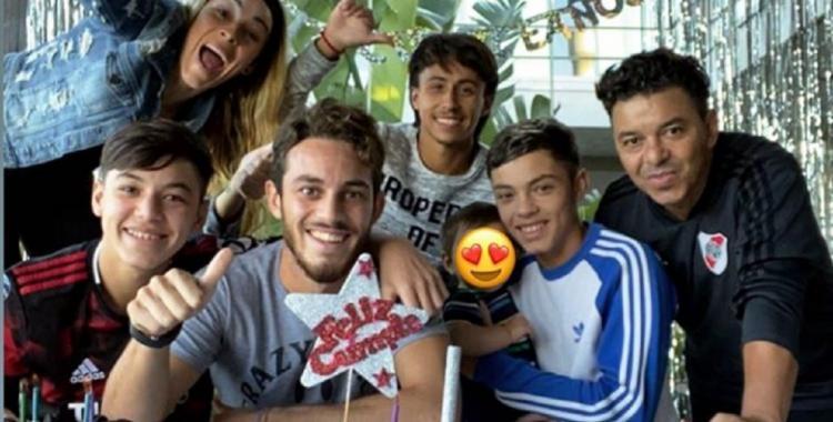 Cómo la pasa Marcelo Gallardo durante la cuarentena | El Diario 24
