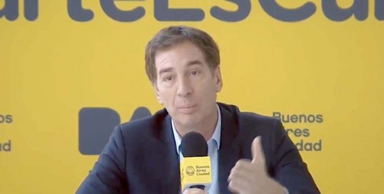 No hay marcha atrás: Santilli confirma que la Ciudad presentará el amparo entre el lunes y miércoles | El Diario 24