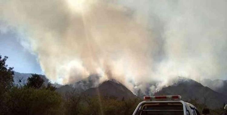 San Luis sufre ahora el azote de los incendios forestales | El Diario 24