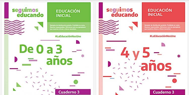 En plena cuarentena, el Gobierno reparte cuadernillos escolares con contenido político | El Diario 24