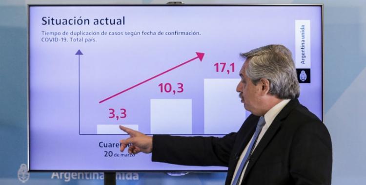 El Gobierno pide perdón por los errores en los gráficos que mostró Alberto Fernández   El Diario 24