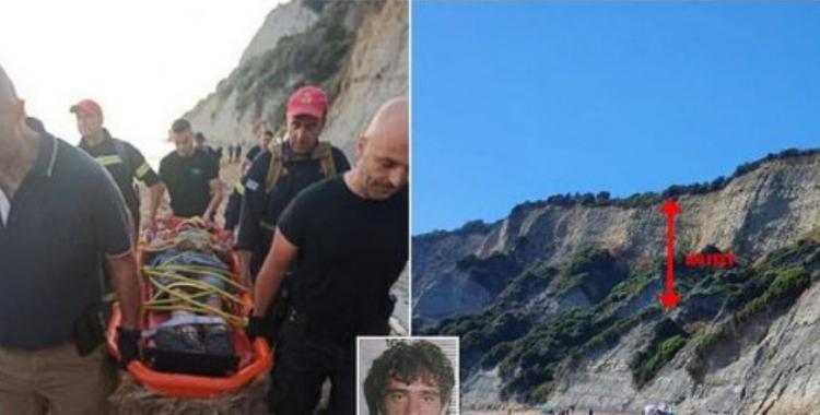 Un violador serial cae de un acantilado de 30 metros de altura mientras escapaba de la Policía | El Diario 24