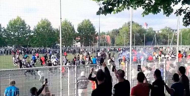 Jugaban al fútbol salvaje y los detuvieron por violar la cuarentena   El Diario 24