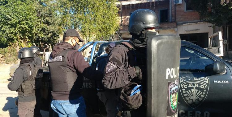 Detienen a integrantes de una peligrosa banda que asaltaba a cadetes | El Diario 24