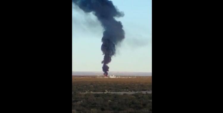 Video: Explotó un tanque petrolero en La Pampa | El Diario 24