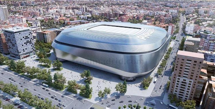 La impresionante imagen del Santiago Bernabéu sin césped | El Diario 24