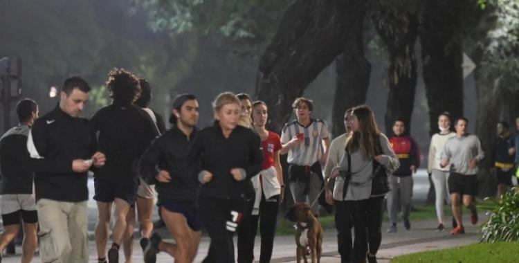 Presentan un amparo para que dejen correr a los runners en la Ciudad | El Diario 24