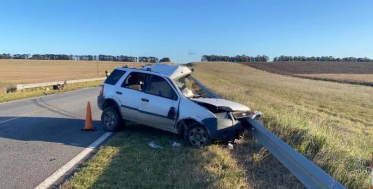 Choque frontal entre un camión y una camioneta dejó una víctima fatal | El Diario 24