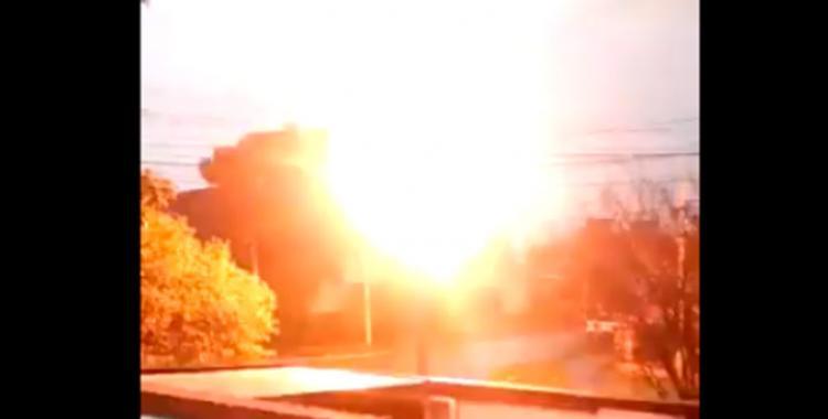 VIDEO: El impresionante momento de la explosión de un transformador en Monteros | El Diario 24