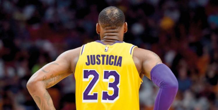 Jugadores de la NBA podrán poner consignas en lugar de sus nombres   El Diario 24