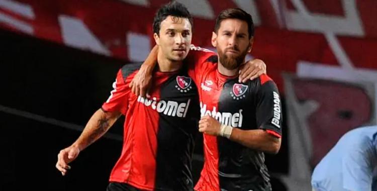 Scocco y Messi, la delantera con la que sueña Newell's   El Diario 24