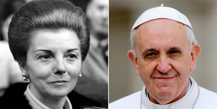 Isabel Perón mostró el rosario que le regaló el papa Francisco | El Diario 24