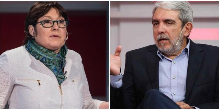 Brutal cruce entre Aníbal Fernández y Graciela Ocaña por la muerte de Fabián Gutiérrez | El Diario 24