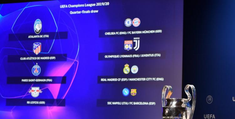 Se sortearon los cruces de los cuartos de final de la Champions League | El Diario 24