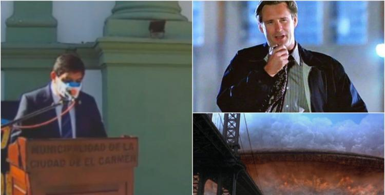 El intendente jujeño que copió su discurso de la película Día de la Independencia | El Diario 24