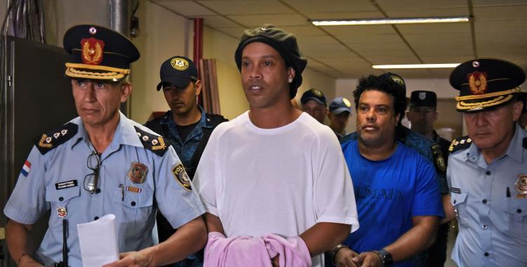 No a lugar: Ronaldinho seguirá en prisión   El Diario 24