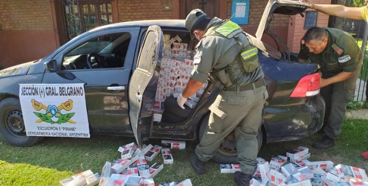 Gracias a un nuevo control, secuestran cerca de 8 mil atados de cigarrillos de contrabando | El Diario 24