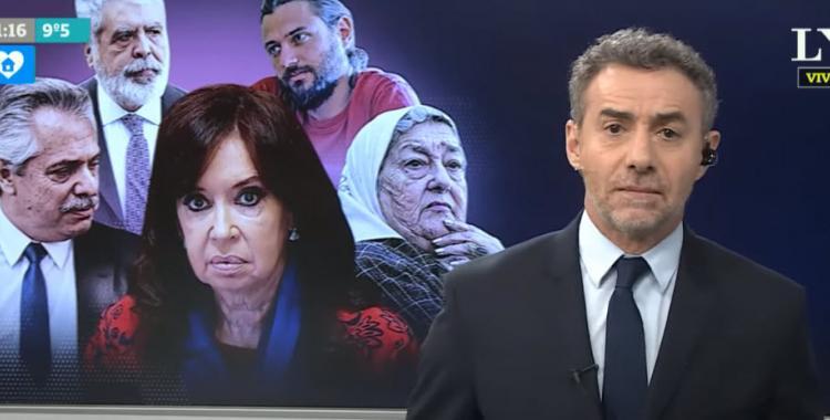 VIDEO: Majul habló de los que quieren lastimar a Alberto Fernández y apuntó a Cristina Kirchner | El Diario 24
