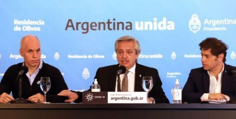 Alberto Fernández grabará el anuncio sobre la nueva fase del aislamiento social | El Diario 24