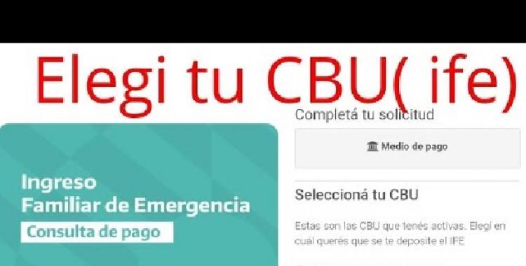 Atención: mañana es el último día para informar una CBU a Anses y poder cobrar el IFE | El Diario 24