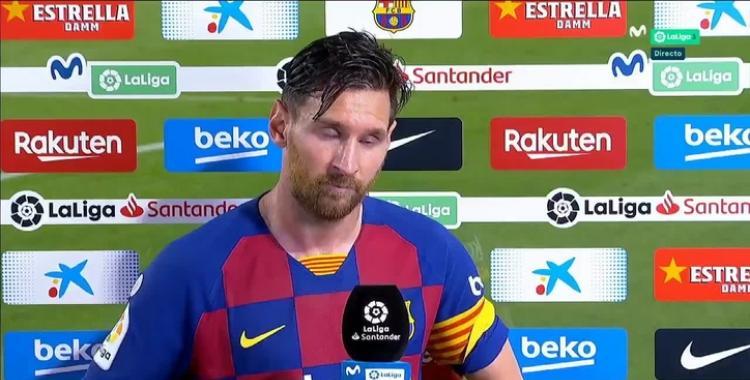¿Por qué estalló Messi en la entrevista de TV? | El Diario 24