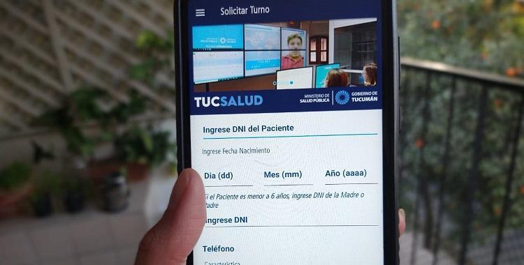 Con la App Tuc-Salud se podrán sacar turnos para consultorios médicos virtuales   El Diario 24