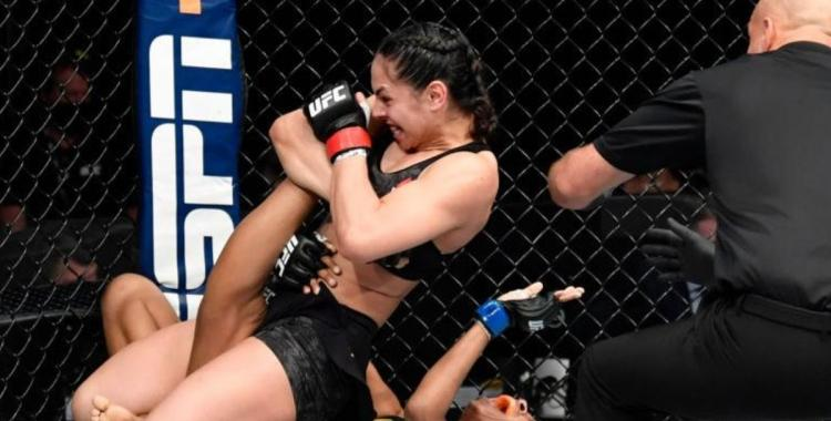 VIDEO: Luchadora de UFC casi le quiebra la rodilla a su rival en una brutal sumisión | El Diario 24