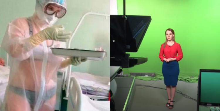 La enfermera que se hizo viral consiguió trabajo en la TV | El Diario 24