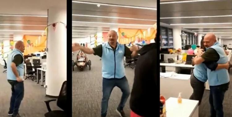 VIDEO: un funcionario porteño se puso a bailar sin barbijo y lo escracharon | El Diario 24